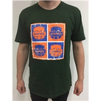 Mapex 4 Logo T-Shirt in Green - S