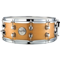 MPX Snare Maple 14x5.5 Gloss Natural w/ Chrome HW