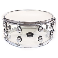 Acrylic 14 x 5.5 Transparent Snare